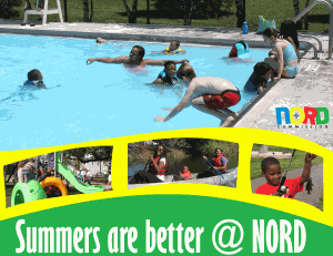 Summers are better at NORDC