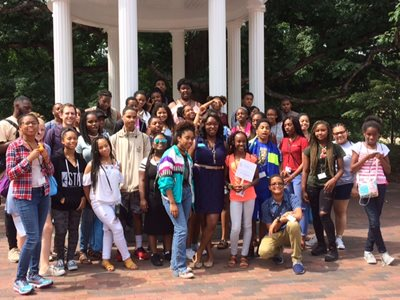 NORD Teens from the Chevron Future Leaders Program Travel to North Carolina for Annual College Tour