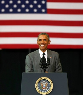 NORDC welcomed President Obama